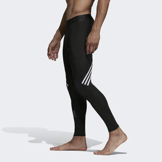 adidas Alphaskin Sport+ Long 3-Stripes Tights