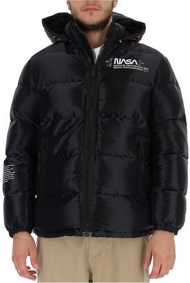 Heron Preston Nasa Hooded Puffer Jacket