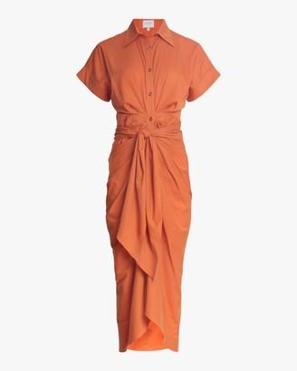 Divine Heritage Belted Shirt Dress