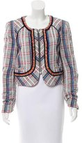Rebecca Minkoff Patterned Long Sleeve Jacket