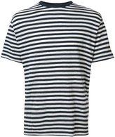 Officine Generale Breton stripe T-shirt - men - Cotton/Linen/Flax - M