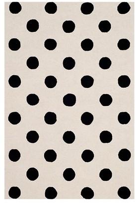 Safavieh Polka Dots Hand Tufted Wool Area Rug