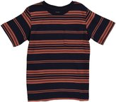 E-Land Kids Striped Tee (Toddler/Kids) - Bali Navy-12