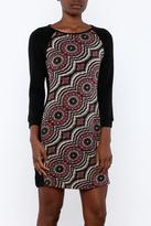 Aryeh Red Print Dress