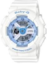 G-Shock Baby-G Resin Analog-Digital White Strap Watch