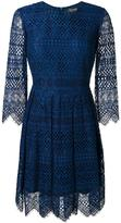 Twin-Set embroidered dress - women - Cotton/Polyamide/Polyester/Viscose - 46