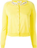 Blugirl embellished cardigan - women - Cotton - 40