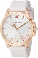 Juicy Couture Women's 'Jetsetter' Quartz Gold and Silicone Casual Watch, Color:-Toned (Model: 1901570)
