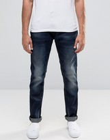 Blend of America Twister Slim Jeans Dark Blue