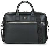 Emporio Armani Y4P119-YLA0E-81074 men's Briefcase in Black