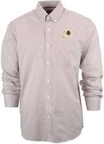 Cutter & Buck Men's Washington Redskins Tattersall Dress Shirt