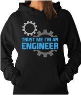 TeeStars - Trust Me I'm an Engineer - Funny Engineering Gift Women Hoodie