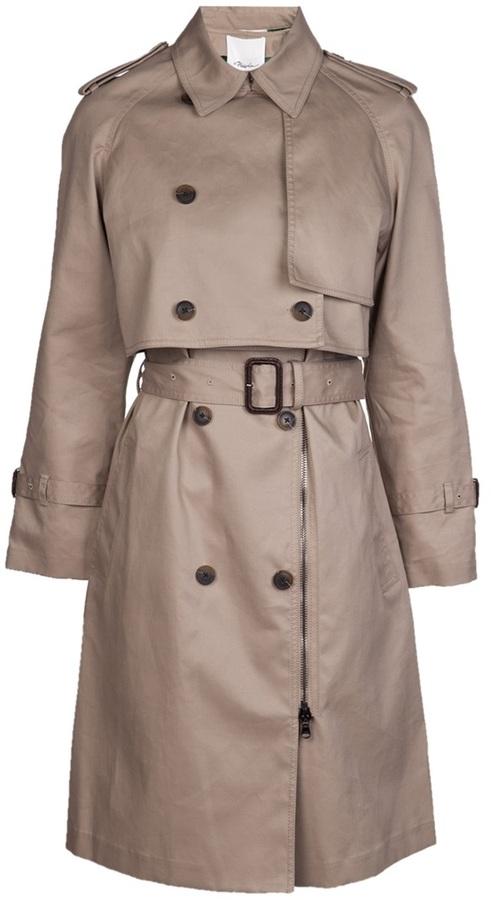 3.1 Phillip Lim layered trench coat