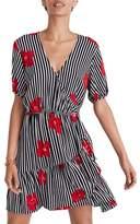Madewell Ruffle Faux Wrap Dress