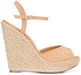 Schutz platform sandals - women - Leather/rubber - 9