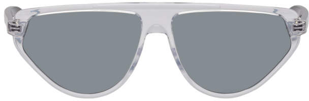 Christian Dior Transparent 247S Black Tie Sunglasses