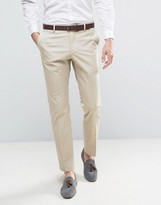 Selected Slim Cotton Stretch Suit Pants