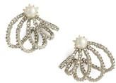 Alexis Bittar Women's Orbiting Crystal Earrings