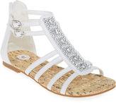 JCPenney Total Girl Gracie Gladiator Sandals - Little Kids/Big Kids