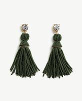 Ann Taylor Seed Bead Tassel Earrings