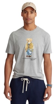 Polo Ralph Lauren Men's Big & Tall Polo Bear Jersey T-Shirt