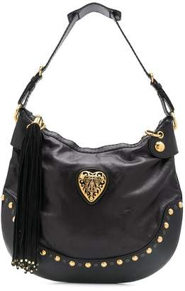 Gucci Pre-Owned heart plaque shoulder bag