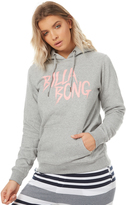Billabong Womens Freedom Hooded Pullover Grey