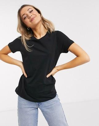 Asos Design DESIGN ultimate organic cotton crew neck t-shirt in black