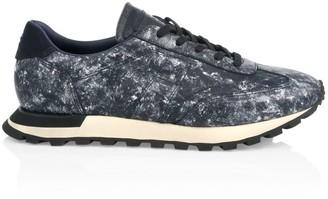 Maison Margiela Extended Sole Paint Low-Top Sneakers