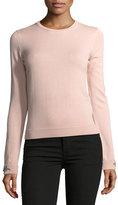 No.21 No. 21 Dolores Crewneck Long-Sleeve Knit Sweater