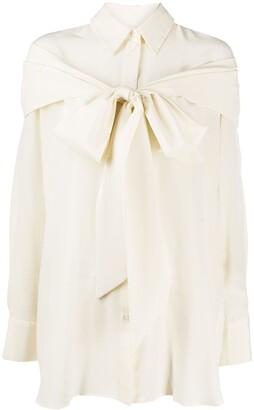 Simone Rocha Pussy Bow Shirt