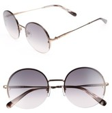 Bobbi Brown Women's 55Mm Round Sunglasses - Gold/ Copper