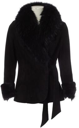 N. Sprung Frères Sprung Freres \N Black Shearling Coats