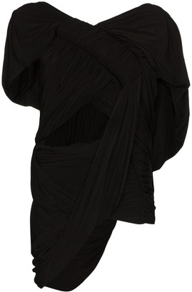 Rick Owens Draped Cut-Out Top