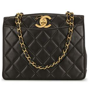 Chanel Pre-Owned diamond quilted CC shoulder bag