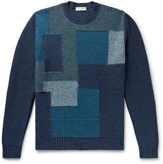 Etro Patchwork Wool Sweater