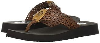 Yellow Box Wally (Black) Women's Sandals