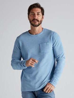 Long Sleeve Crew Neck Pocket Thermal