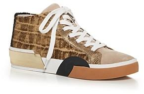Dolce Vita Women's Zoel Mixed Media Mid Top Sneakers