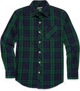 Arizona Long-Sleeve Woven Cotton Shirt - Boys 8-20 and Husky