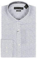 Vince Camuto Confetti Print Wrinkle Free Slim Fit Dress Shirt