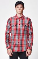 Obey James Plaid Shirt Jacket