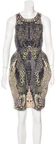 McQ by Alexander McQueen Printed Sleeveless Dress w/ Tags