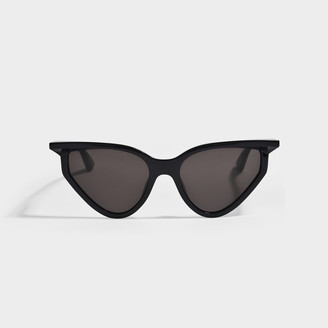 Balenciaga Black Cat Eye Sunglasses In Injection