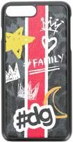 Dolce & Gabbana hashtag family printed iPhone 7 Plus case