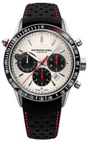 Raymond Weil Freelancer Stainless Steel Leather Strap Watch