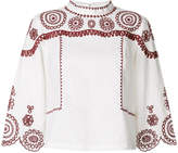 MiH Jeans Edison embroidered blouse