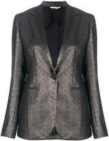 Tonello metallic slim fit jacket