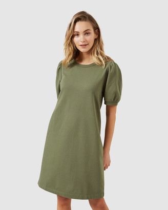 French Connection Puff SleeveJersey Dress
