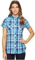 Roper 1533 Blue Spruce Dobby Women's Clothing